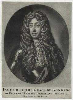King James II, after Sir Godfrey Kneller, Bt - NPG D30785