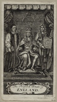 King James II, by Robert White - NPG D30801