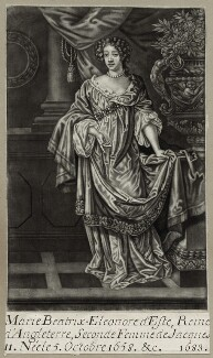 Mary of Modena, after Sir Peter Lely - NPG D30803