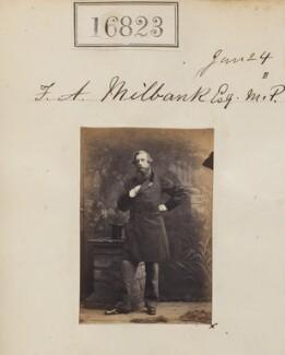 Sir Frederick Acclom Milbank, 1st Bt, by Camille Silvy - NPG Ax64706