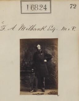 Sir Frederick Acclom Milbank, 1st Bt, by Camille Silvy - NPG Ax64707