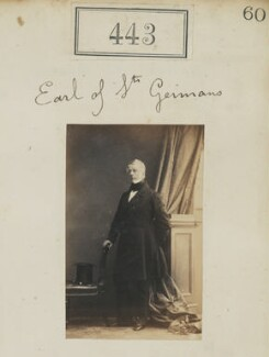 Edward Granville Eliot, 3rd Earl of St Germans, by Camille Silvy - NPG Ax50183