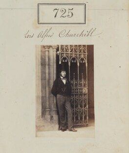 Lord Alfred Spencer-Churchill, by Camille Silvy - NPG Ax50361