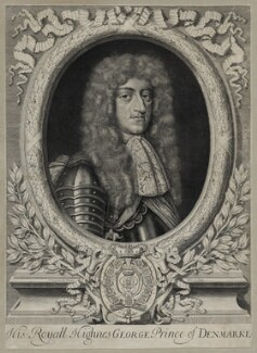Prince George of Denmark, Duke of Cumberland, by David Loggan - NPG D30814