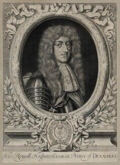 Prince George of Denmark, Duke of Cumberland, by David Loggan, late 17th century - NPG D30814 - © National Portrait Gallery, London