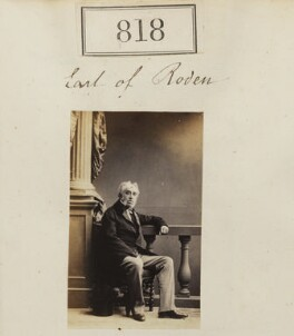 Robert Jocelyn, 3rd Earl of Roden, by Camille Silvy - NPG Ax50424