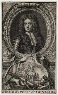 Prince George of Denmark, Duke of Cumberland, after Sir Godfrey Kneller, Bt - NPG D30815