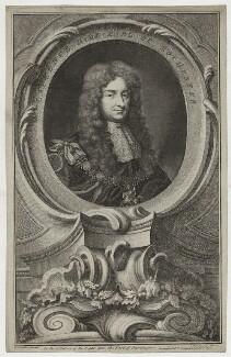 Laurence Hyde, 1st Earl of Rochester, by Jacobus Houbraken, published by  John & Paul Knapton, after  Sir Godfrey Kneller, Bt - NPG D30817