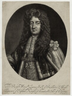 Laurence Hyde, 1st Earl of Rochester, by Isaac Beckett, after  Sir Godfrey Kneller, Bt - NPG D30818