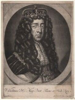 King William III, by Gerard Valck, after  Unknown artist - NPG D9220