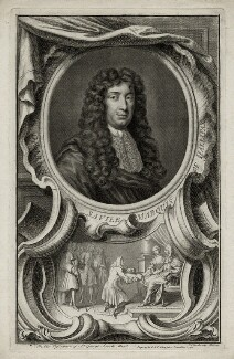 George Savile, 1st Marquess of Halifax, by Jacobus Houbraken, published by  John & Paul Knapton - NPG D30823