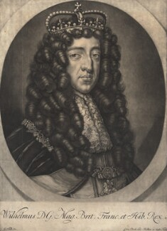 King William III, by Gerard Valck, after  Unknown artist - NPG D9221