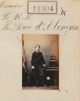 Ferdinand Philippe Marie d'Orléans, Duke of Alençon, by Camille Silvy - NPG Ax61959