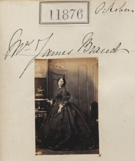Mrs James Braud, by Camille Silvy - NPG Ax61554