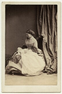 Caryl Walter Craven; Lady Mary Catherine Craven (née Yorke), by Camille Silvy - NPG x1559