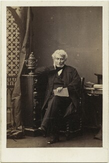 Edward Law, 1st Earl of Ellenborough, by Camille Silvy - NPG x14358