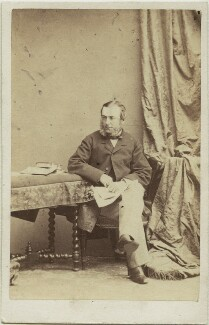 Ernest Leopold, 4th Prince of Leiningen, by Camille Silvy - NPG x74544
