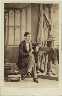 Johann II, Prince of Liechtenstein, by Camille Silvy, 1860 - NPG  - © National Portrait Gallery, London