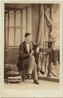 Johann II, Prince of Liechtenstein, by Camille Silvy, 1860 - NPG x74548 - © National Portrait Gallery, London