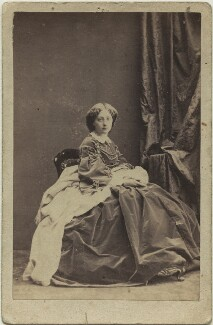 Marie of Baden, Princess of Leiningen, by Camille Silvy - NPG x131712