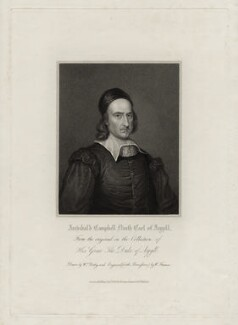 Archibald Campbell, 9th Earl of Argyll, possibly by Samuel Freeman, after  William Derby, published 1826 - NPG D30835 - © National Portrait Gallery, London