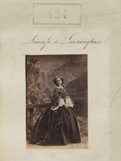 Marie of Baden, Princess of Leiningen, by Camille Silvy - NPG Ax50170