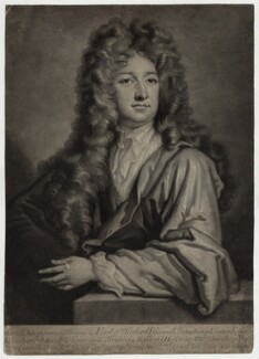 Charles Seymour, 6th Duke of Somerset, by and published by John Simon, after  Sir Godfrey Kneller, Bt - NPG D30841