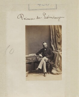 Ernest Leopold, 4th Prince of Leiningen, by Camille Silvy - NPG Ax50171