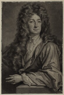 Charles Seymour, 6th Duke of Somerset, by and published by John Simon, after  Sir Godfrey Kneller, Bt - NPG D30842