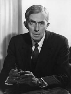 Sir Roy Harrod, by Walter Bird, 6 February 1963 - NPG x20452 - © National Portrait Gallery, London