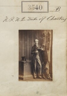 Robert Philippe Louis Eugène Ferdinand d'Orléans, Duke of Chartres, by Camille Silvy - NPG Ax52936