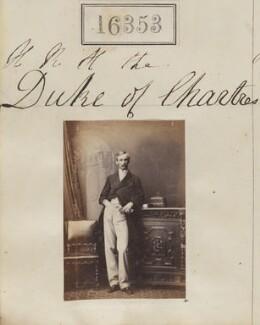 Robert Philippe Louis Eugène Ferdinand d'Orléans, Duke of Chartres, by Camille Silvy - NPG Ax64267