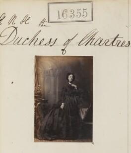 Princess Françoise Marie Amélie d'Orléans, Duchess of Chartres, by Camille Silvy - NPG Ax64269