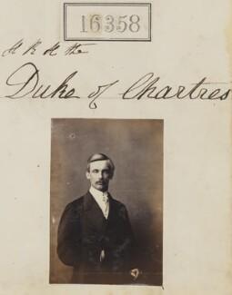 Robert Philippe Louis Eugène Ferdinand d'Orléans, Duke of Chartres, by Camille Silvy - NPG Ax64272