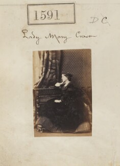 Lady Mary Catherine Craven (née Yorke), by Camille Silvy - NPG Ax50985