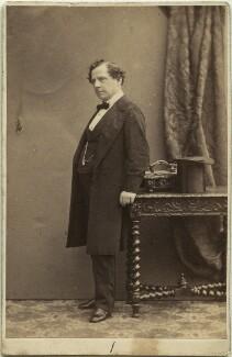 (Thomas) Frederick Robson (né Brownbill), by Camille Silvy - NPG x22077