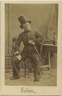(Thomas) Frederick Robson (né Brownbill), after Camille Silvy - NPG x22081