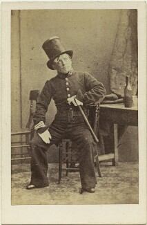 (Thomas) Frederick Robson (né Brownbill), after Camille Silvy - NPG x22080