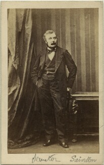 Prosper Philippe Catherine Sainton, after Camille Silvy - NPG x74509