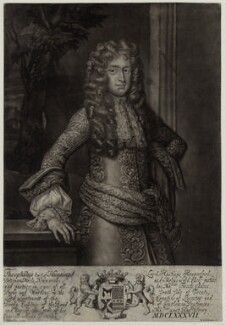 Theophilus Hastings, 7th Earl of Huntingdon, by Robert Williams, after  Sir Godfrey Kneller, Bt - NPG D30851