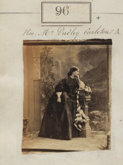 Charlotte (née Hobhouse), Lady Dorchester, by Camille Silvy - NPG Ax50078