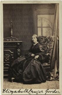 Elizabeth Cruger Gordon, by Camille Silvy - NPG x131714