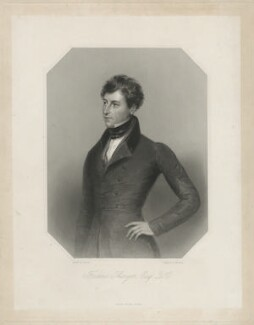 Frederick Thesiger, 1st Baron Chelmsford, by W. Joseph Edwards, after  James Holmes - NPG D33021