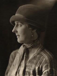 Cecil Mary Nowell Dering Craig (née Tupper), Viscountess Craigavon, by Olive Edis - NPG x6995
