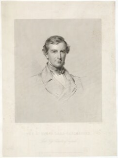 Frederick Thesiger, 1st Baron Chelmsford, by W. Joseph Edwards, after  George Richmond - NPG D33022