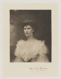 Mildred Cecilia Harriet (née Sturt, later Viscountess Chelsea, later Lady Lambton), Lady Montagu, by Frederick John Jenkins, after  Edward Hughes - NPG D33023