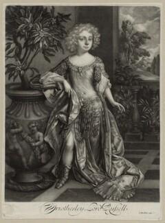 Wriothesley Russell, 2nd Duke of Bedford, by Isaac Beckett, after  Sir Godfrey Kneller, Bt - NPG D30859