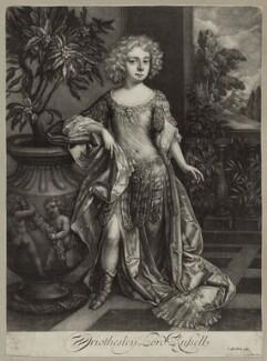 Wriothesley Russell, 2nd Duke of Bedford, by Isaac Beckett, after  Sir Godfrey Kneller, Bt - NPG D30860