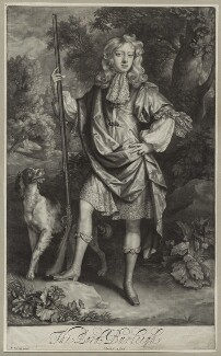 John Cecil, 6th Earl of Exeter, by John Smith, after  Willem Wissing, published by  Edward Cooper - NPG D30861