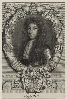 John Drummond, 1st Earl of and titular Duke of Melfort, by Peter Vanderbank (Vandrebanc), after  Sir Godfrey Kneller, Bt - NPG D30869